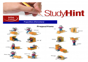 prepositions 1