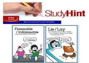 study hint - flammable