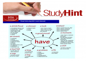 phrasal verbs using have